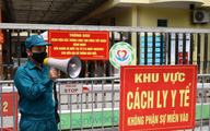 Một tuần trước khi mắc COVID-19, người phụ nữ ở Phú Thọ đến khám tại một bệnh viện ở Hà Nội