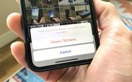 Cách để xoá toàn bộ ảnh trong iPhone hoặc iPad
