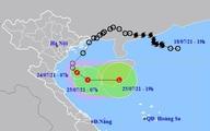 Áp thấp nhiệt đới đang gây mưa to ở nhiều tỉnh miền Trung