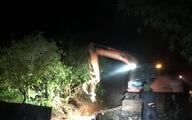 Mưa lớn suốt 24 giờ gây ngập lụt ở huyện cao nhất Nghệ An
