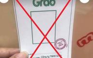 TP.HCM cảnh báo việc làm giả thẻ có logo và con dấu của Grab để đi đường