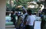 Thừa Thiên Huế: Bộ đội gấp rút chuẩn bị cơ sở vật chất tại các trường đại học, cao đẳng để làm khu cách ly