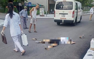 Quảng Ninh:  Một phụ nữ bị xe nâng cán tử vong khi đi tập thể dục