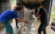 6h sáng mai, tàu chở 10 tấn thiết bị y tế từ Hà Nội vào TP.HCM