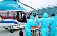 Hải Phòng đưa một ca bệnh nặng bằng trực thăng từ đảo Bạch Long Vỹ vào đất liền