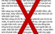 Người phụ nữ viết status 'Sài Gòn ăn từ thiện cả nước' bị phạt 5 triệu đồng