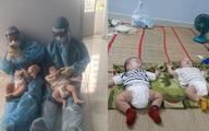 Rơi nước mắt chuyện của hai em bé F0 bị bỏ rơi và đêm trắng của những ông bố, bà mẹ 9X