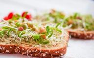 Tăng cường hệ miễn dịch với bánh mì hạt lúa mạch nảy mầm