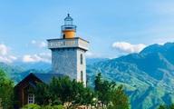 Người đàn ông mê biển nhưng lên núi xây hải đăng cho gia đình sinh sống