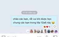 Nam sinh vừa vào lớp mới đã nhắn tin trong group chat, phản ứng của bạn cùng lớp gây tranh cãi