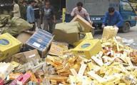 Quảng Ninh: Bắt giữ 16.000 bao thuốc lá ngoại nhập lậu
