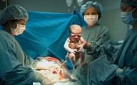 Cận cảnh một ca mổ đẻ ở bệnh viện Việt Pháp