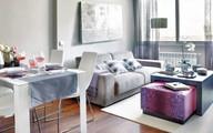 """Ngắm căn hộ 45m² sử dụng gam tím hồng mà không """"sến"""""""