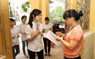 Cận cảnh thí sinh thủ đô trong buổi thi đầu tiên