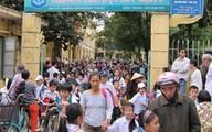 Trường đầu tiên ở Hà Nội thay đổi giờ học
