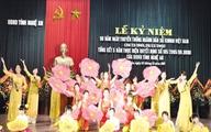 Kỷ niệm 50 năm ngành DS-KHHGĐ Việt Nam: Rộn ràng ngày vui