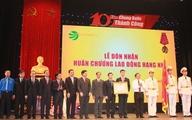 Tổng công ty vận tải Hà Nội nhận Huân chương Lao động hạng Nhì