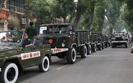 Sơ đồ lộ trình đưa linh cữu Đại tướng ra sân bay Nội Bài