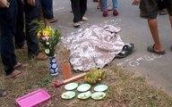 Đau xót bé lớp 1 bị xe cán chết trước cổng trường