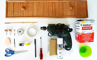 Móc treo đồ điệu đà từ ngăn kéo cũ