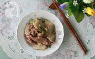 Bò xào cải thảo ngọt giòn ngon cơm
