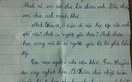 """Bức thư của cô bé lớp 3 """"đánh gục"""" cộng đồng mạng"""