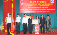 Chi cục DS-KHHGĐ tỉnh Cao Bằng đón nhận Huân chương lao động hạng Nhất