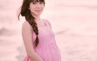 Vợ Lý Hải xinh đẹp khi mang bầu 9 tháng