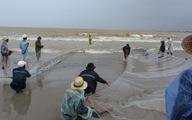 Ngư dân Đà Nẵng mạo hiểm bắt cá giữa mưa bão Haiyan