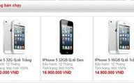 Giá iPhone tiếp tục giảm mạnh