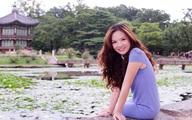 Đan Lê xinh đẹp từ mọi góc nhìn ở Hàn Quốc