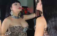 """Cindy Thái Tài buông vai trần, trưng vòng một siêu """"khủng"""""""