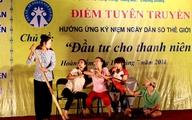 Quận Hoàn Kiếm – Hà Nội: Tổ chức Điểm tuyên truyền hưởng ứng kỷ niệm Ngày Dân số Thế giới