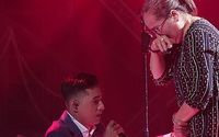 Lăng LD quỳ gối trước mẹ và lần đầu Rhymastic khóc ở Rap Việt
