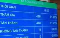 """Luật Phòng chống HIV/AIDS sửa đổi vừa thông qua lập những """"kỷ lục"""" nào trong lịch sử lập pháp Việt Nam?"""