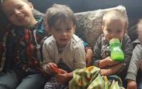 Bốn đứa trẻ chết cháy vì bố mẹ ngủ quên