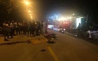 Hà Nội: Va chạm giữa 2 xe máy khiến 4 người thương vong