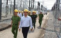 Ra mắt lực lượng Cảnh sát bảo vệ Trạm biến áp quan trọng của đường dây 500kV Bắc-Nam