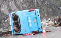 Xe khách lật trên quốc lộ khiến 12 người thương vong có hệ thống phanh thế nào?
