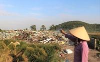 Hãi hùng những bãi rác bủa vây dân cư ở Hải Phòng