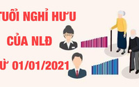 Quy định mới về tuổi nghỉ hưu chính thức được thực hiện thế nào từ 1/1/2021?
