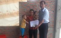 Trao tiền bạn đọc hỗ trợ hoàn cảnh khó khăn ở Hà Tĩnh