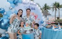 Hết 2 cháu gái thi Hoa hậu, đến con gái Trang Nhung mới 6 tuổi đã được chú ý nhờ nhan sắc gen trội trong tiệc sinh nhật