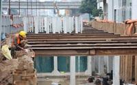 Toàn cảnh hầm chui gần 700 tỷ ở Hà Nội đang được tăng tốc thi công