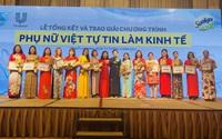 """Trao giải chương trình """"Phụ nữ Việt tự tin làm kinh tế"""" năm 2020"""