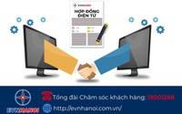 EVNHANOI triển khai ký lại hợp đồng mua bán điện sinh hoạt theo phương thức điện tử