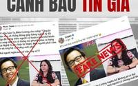 BLV Tạ Biên Cương vội làm ngay điều này sau hàng loạt tin đồn về phát ngôn ủng hộ bà Phương Hằng