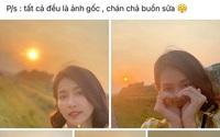 Thanh Sơn đăng ảnh chưa chỉnh sửa của Khả Ngân lên trang cá nhân sau nghi vấn chở nàng đi chơi khắp Hà Nội