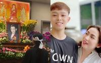 Con nuôi cố ca sĩ Phi Nhung cúng thất cho mẹ, Hồ Văn Cường vẫn vắng mặt khiến fan thắc mắc