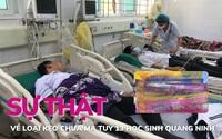 Sự thật về loại kẹo nghi chứa ma tuý 13 học sinh Quảng Ninh
